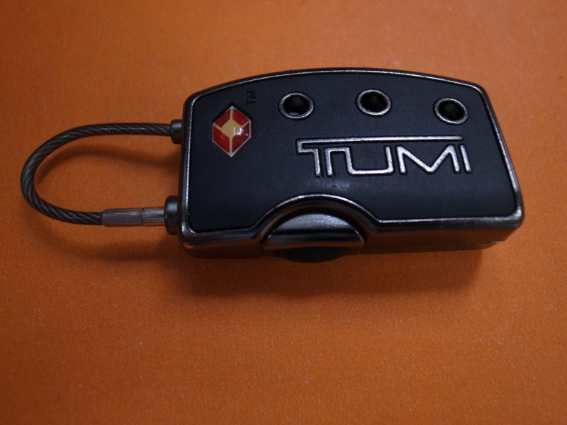 TSAロック2(TUMI)