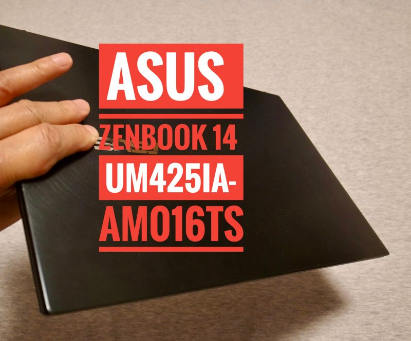 ASUS ZenBook 14タイトル